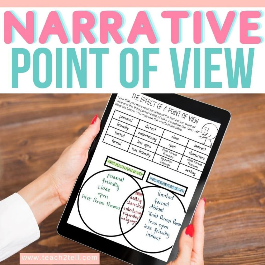 narrative point of view third person