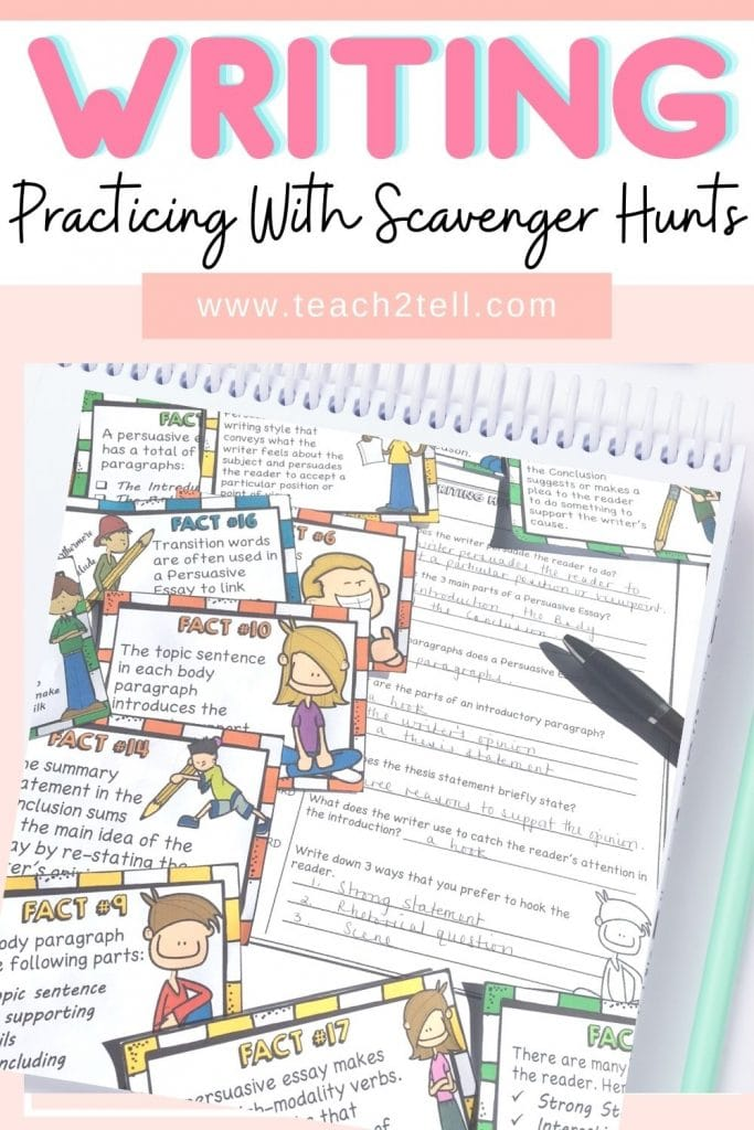 How to teach writing to 6th grade