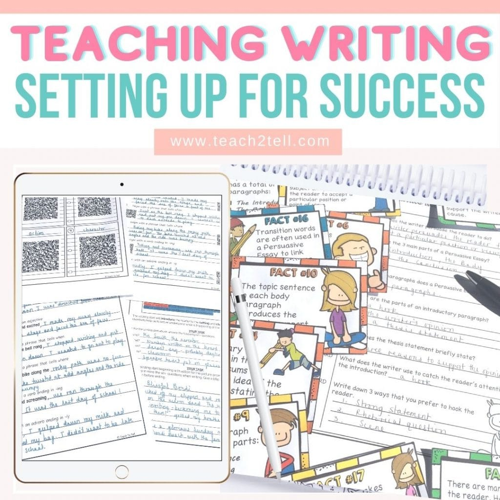 How to teach writing that's interesting and not boring