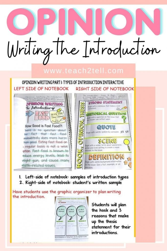Do you need to teach your 3rd, 4th or 5th grade students how to write an opinon or a persuasive essay? This resource will help scaffold the techniques and the structural elements.