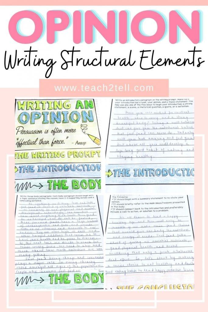 How to teach persuasive writing to 5th grade