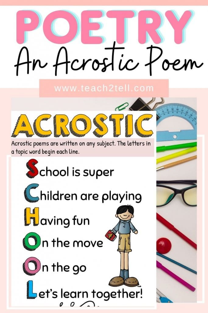 how to write an acrostic