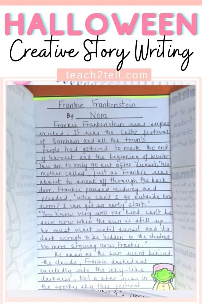 Halloween Creative Story Writing Activity