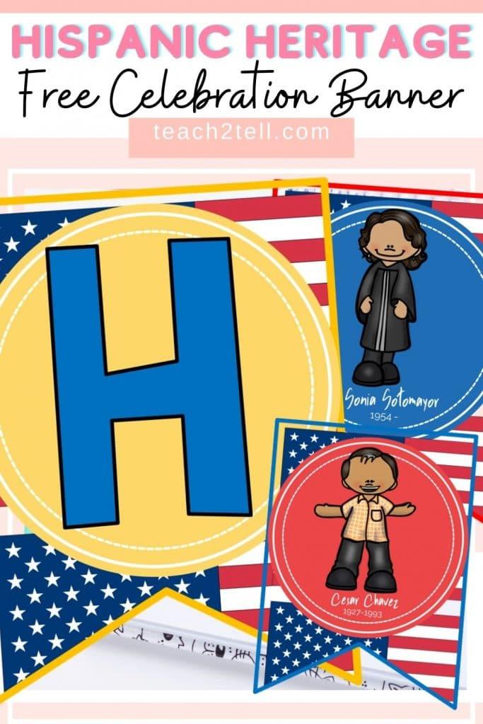 Hispanic Heritage Month Free Banner