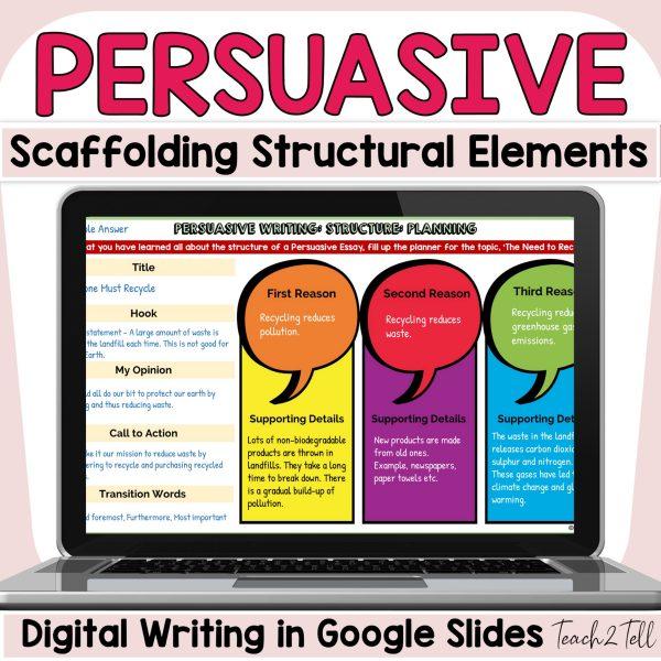persuasive opinion digital writing